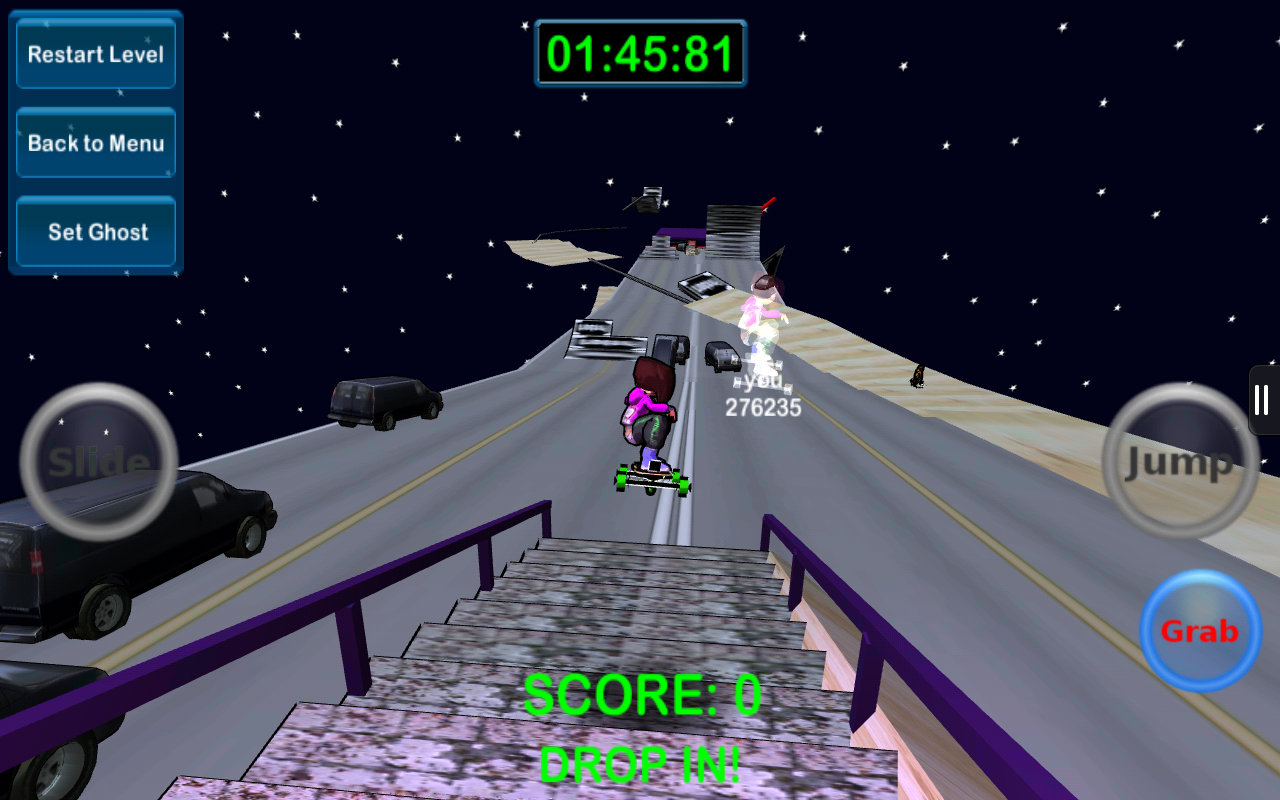Mad Freebording Snowboarding - screenshot