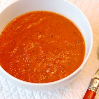 Fire Roasted Spicy Tomato Soup.