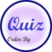 Quiz Answer Order By