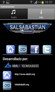 Radio Salsabastian - screenshot thumbnail