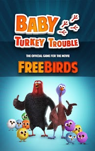Free Birds Baby Turkey Trouble- screenshot thumbnail