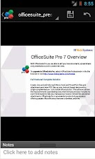 OfficeSuite Pro 7 (PDF & HD) - Android Mobile Analytics and App Store Data