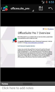 OfficeSuite Pro 7 (PDF&Fonts) - screenshot thumbnail