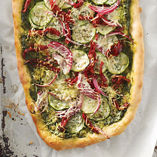 Pesto-Vegetable Pizza