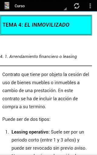 【免費商業App】Curso de Contabilidad-APP點子