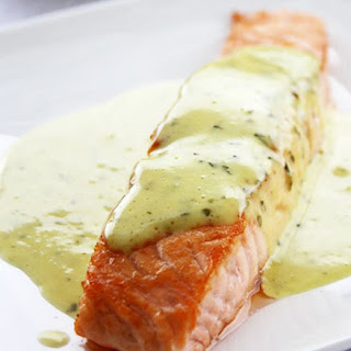 Ingredients List For Grilled Salmon With Mint And Basil Sauce