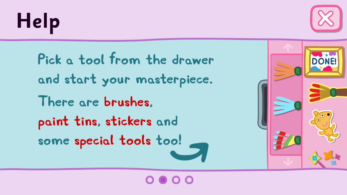 Peppa Pig: Paintbox- screenshot