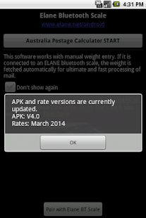 Australia Postage Calculator - screenshot thumbnail