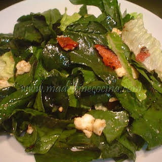 Spinach, Bacon, and Feta Salad.