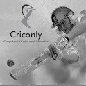 Criconly Cricket Scores & News icon