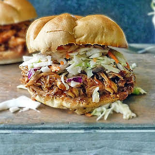 Barbecue Pulled Chicken Sandwich.