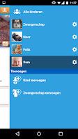 Screenshot of GroeiApp