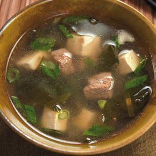 Tofu Seaweed Soup Recipes.