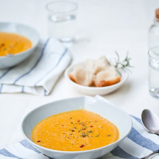 Curried Coconut Carrot Soup.