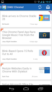 OMG! Chrome! for Android - screenshot thumbnail