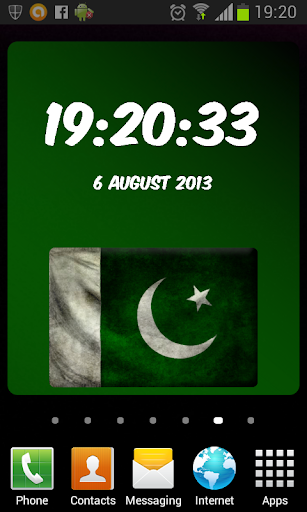 Pakistan Digital Clock