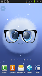 玩個人化App|Fairy Puff Live Wallpaper免費|APP試玩