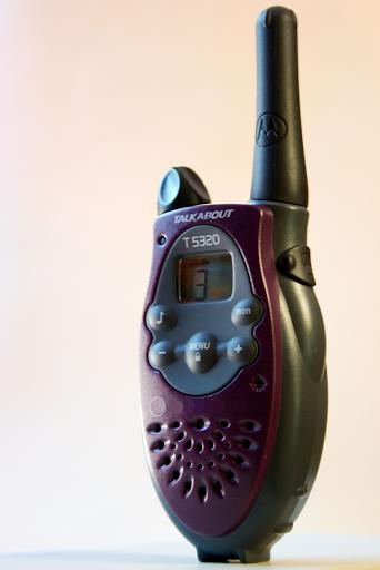 偽の警察ラジオ