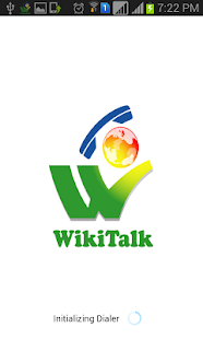 Wikitalk Dialer- screenshot thumbnail