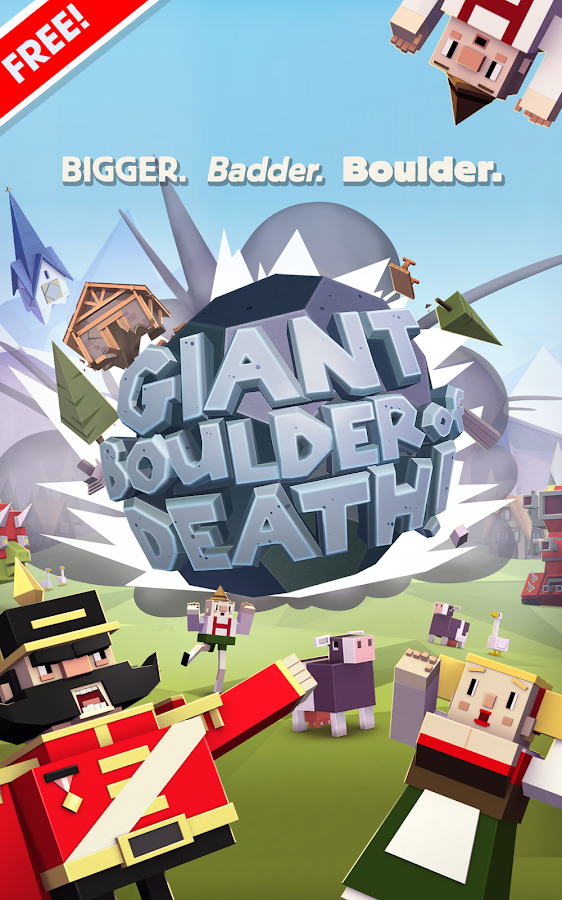 Giant Boulder of Death– снимак екрана