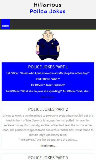 Hillarious Police Jokes