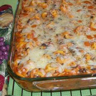Easy Tortellini Bake Recipe
