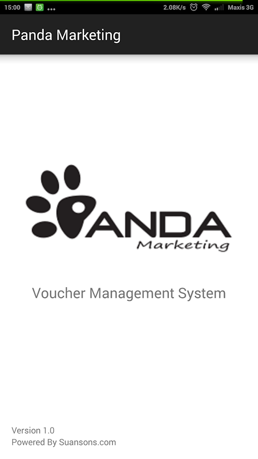 panda voucher system