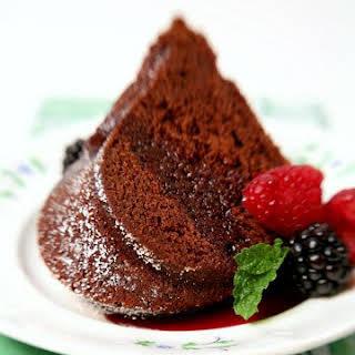 Chocolate Wine Cake.