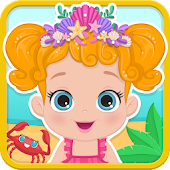 Baby Caring - Fun Beach Games Android APK Download Free By Transylgamia