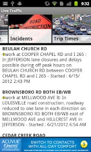 Louisville Traffic from WHAS11 - screenshot thumbnail