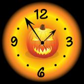 Nice Halloween Clock