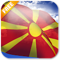 3D Macedonia Flag LWP icon
