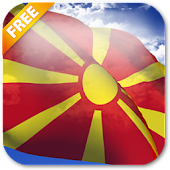 3D Macedonia Flag LWP