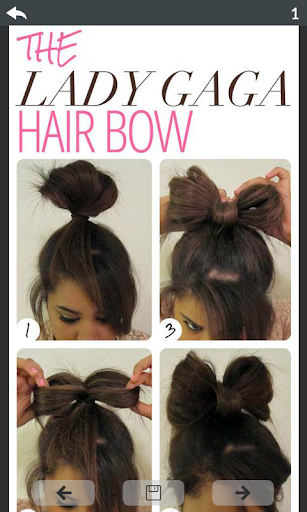 Girls hairstyle steps 5