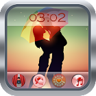 Cute Couple Kiss Go Locker icon