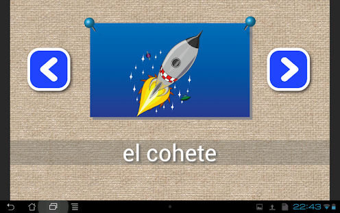 Learn Spanish words & spelling - screenshot thumbnail