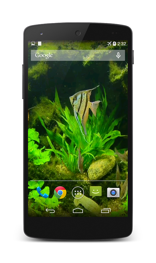 Fish tank hd live wallpaper android apps on google play for Fish tank app