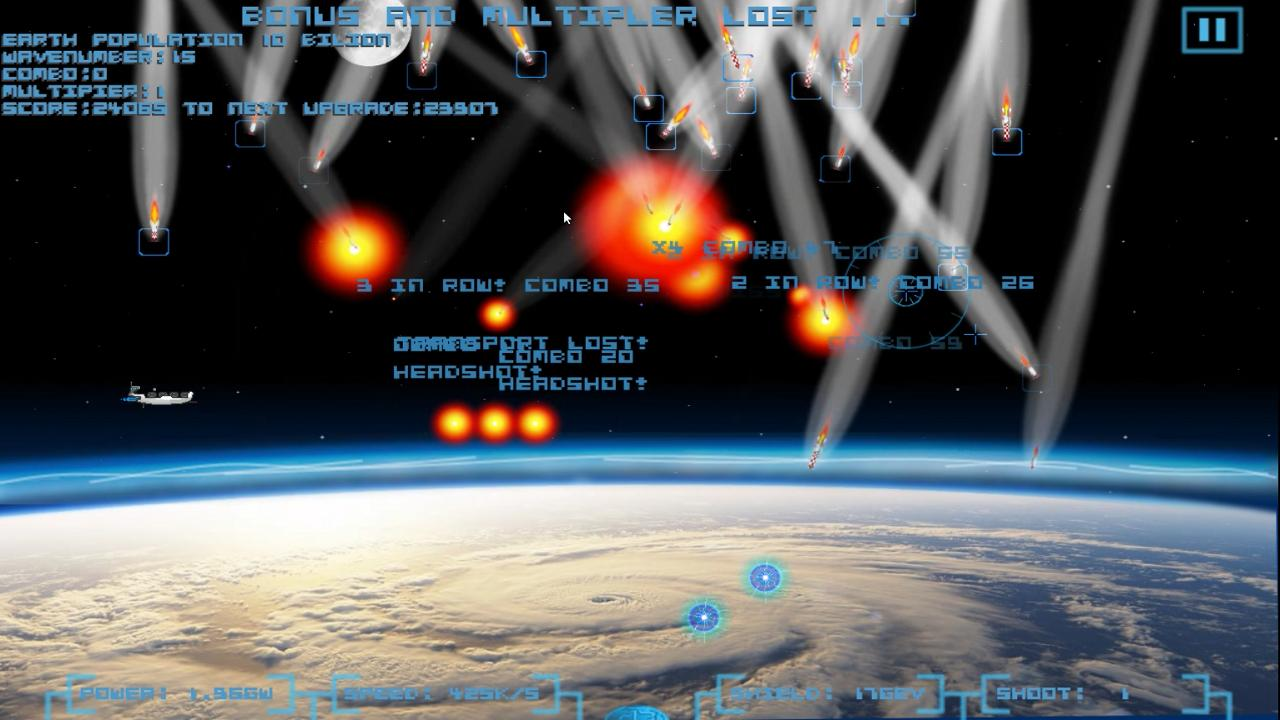 Space Defense HD - screenshot