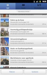 Rijksmonumenten- screenshot thumbnail