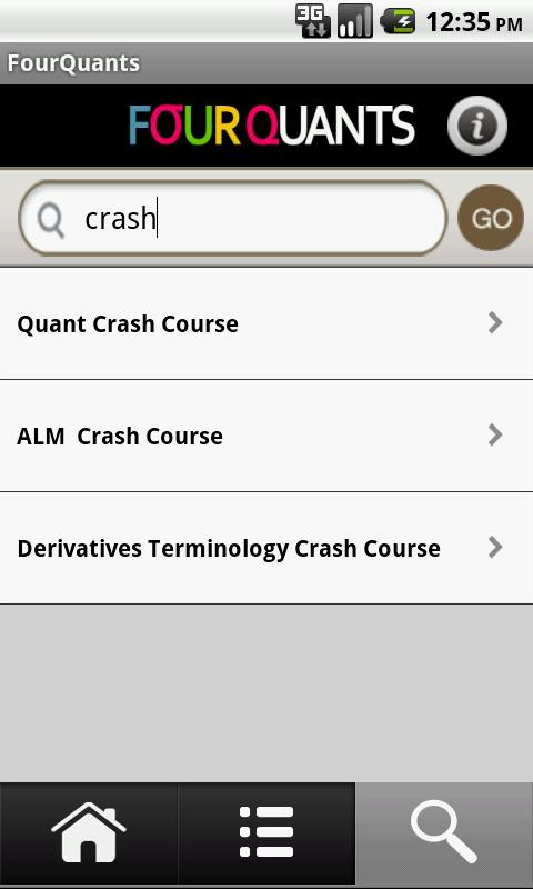 FourQuants - Finance Courses- screenshot