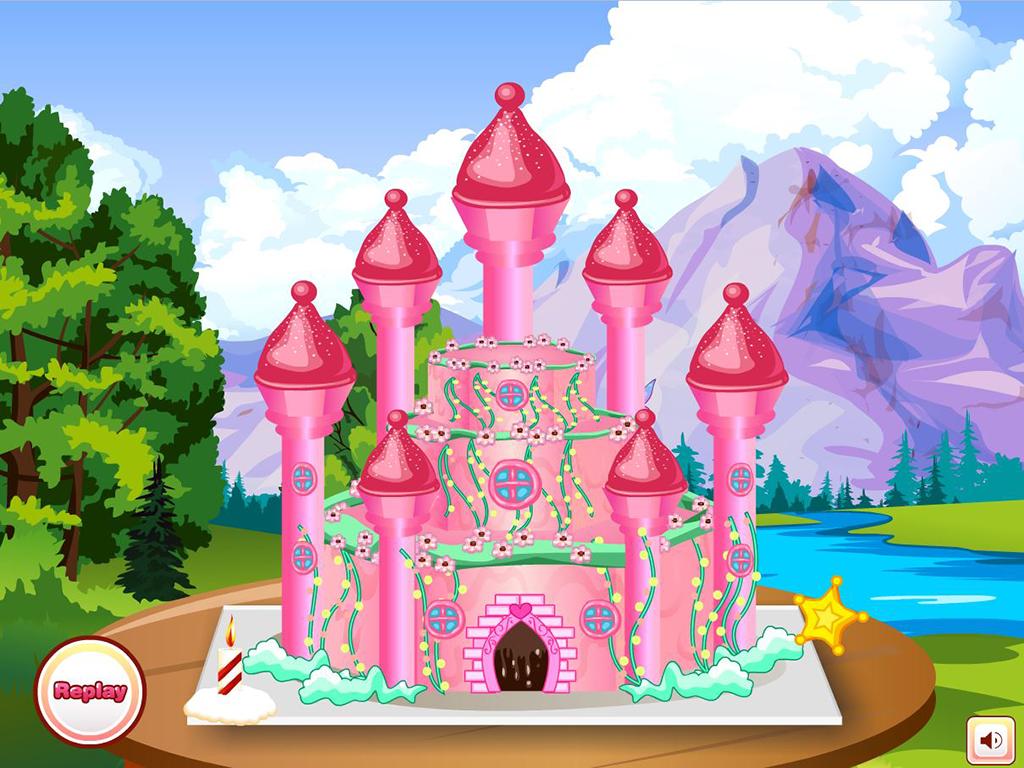 Cooking Princess Cake Games