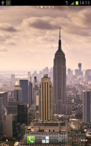 3D New York Live Wallpaper