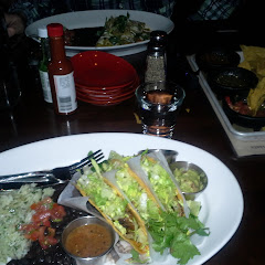 tacos, chips and salsa, enchiladas