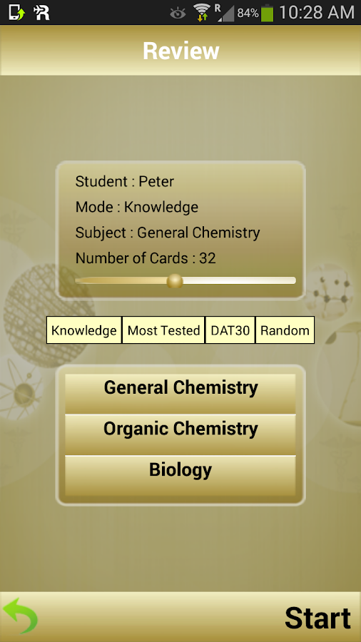 DAT Flashcards- screenshot