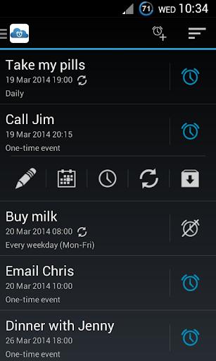Reminders Alarms