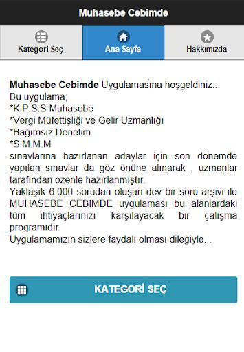Muhasebe Cebimde