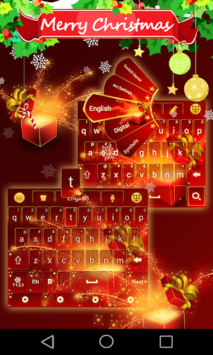 Xmas Time GO Keyboard Theme