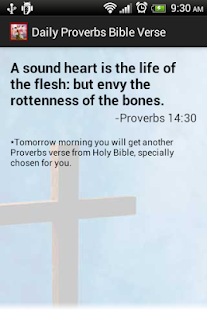 Proverbs Daily Bible Verses