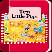 리틀잉글리시-Ten Little Pigs(5세용)