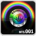 Rainbow Go Launcher theme icon
